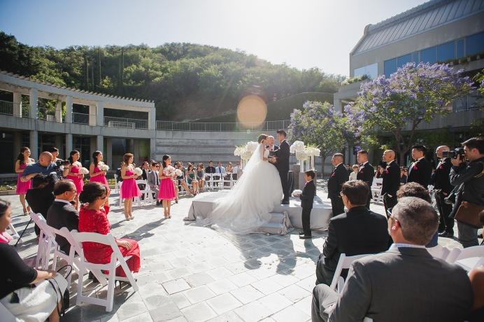 Skirball Cultural Center Wedding Photography - 0111